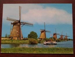 MOLENLAND MÜHLENLAND LAND Of WINDMILLS - Anno 1991 ( Zie/voir Foto Voor Details ) !! - Holanda