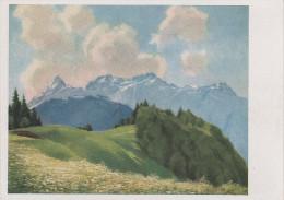Korn Künstlerkarte AK F. Luther Zimba Mit Vandanser Wand Nr. 650 - Künstlerkarten