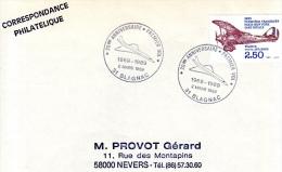 BLAGNAC, 31 : TàD 1989 20e Anniversaire 1er Vol Du CONCORDE - Commercial Aviation
