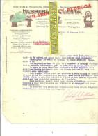 Espagne - BILBAO - Facture CUESTA - Machines Pour Travailler Le Bois - 1929 - REF 31 - España