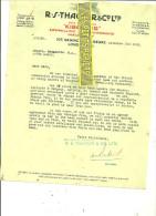Royaume-uni - LONDRES - Facture THACKER - 1926 - REF 31 - Royaume-Uni