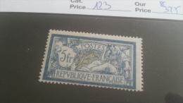 LOT 215253 TIMBRE DE FRANCE NEUF** N�123 VALEUR 325 EUROS