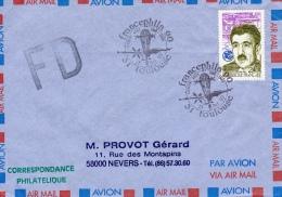 TOULOUSE, 31 : TàD FRANCEPHILA 90 - Clément Ader 1890-1990 - Commercial Aviation