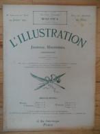 L´illustration  (N° 3700  -  24 Janvier 1914)   72° Année - Livres, BD, Revues