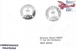 """BREBIERES, 62 : TàD 1989 45e Anniversaire Du """"Groupe Lorraine"""" F.F.L. - Commercial Aviation"""