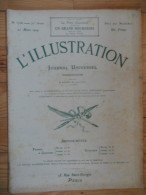 L´illustration  (N° 3708  -  21 Mars 1914)   72° Année - Livres, BD, Revues
