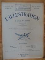 L´illustration  (N° 3706  -  7 Mars 1914)   72° Année - Livres, BD, Revues