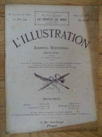 L´illustration  (N° 3721  -  20 Juin 1914)   72° Année - Livres, BD, Revues