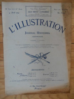 L´illustration  (N° 3710  -  4 Avril 1914)   72° Année - Livres, BD, Revues