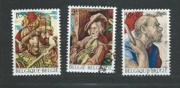 BELGIQUE - N° 1505 à 1507 - O - Belgique