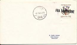 Faroe Islands Ship Cover Fra Færøerne (FROM FAROE ISLANDS) Copenhagen 3-7-1980 - Faroe Islands
