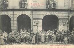 SAINT DIE AVANT L'OCCUPATION ALLEMANDE PRISONNIERS ALLEMANDS 08/1914 - Saint Die