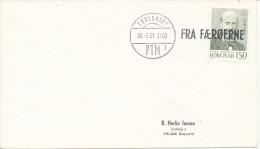 Faroe Islands Ship Cover Fra Færøerne (FROM FAROE ISLANDS) Copenhagen 30-3-1981 - Faroe Islands