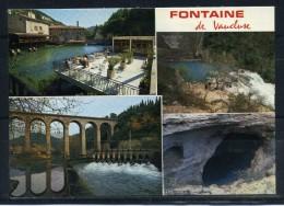FONTAINE DE VAUCLUSE . Multivues . Voir Recto - Verso    (S522) - France