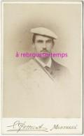 CDV Vers1890-portrait D´un Franc-maçon-photo Edouard Potterat Avenue Du Kursaal à Montreux - Antiche (ante 1900)