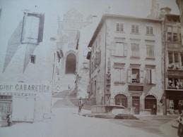 Photo 1892 Collée Sur Carton.Le Puy Loire 12 X16 - Oud (voor 1900)