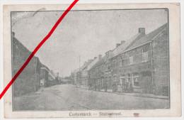 PostCard - Kortemark Cortemarck - Statiestraat - 1917 - Feldpost Mit Briefstempel Fußart. Regiment 32 - Kortemark