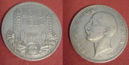 BULGARIA 100 LEVA 1934 SILVE COIN ARGENTO - Bulgaria