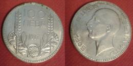 BULGARIA 100 LEVA 1937 SILVE COIN ARGENTO - Bulgaria