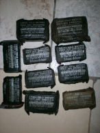 US ARMY WWII GM2 ORIGINAL LOT Of 10 BANDAGE PANCEMENT MEDICAL - 1939-45