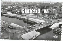 DUNKERQUE - Pont Europe (animée, Véhicules Anciens) - N° 648 - Dunkerque