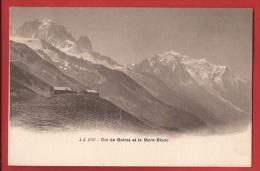 CTRI-18 Col De Balme Et Le Mont-Blanc Hotel Suisse. Non Circulé, Jullien 1757. Précurseur - VS Valais