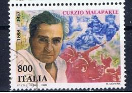 I+ Italien 1998 Mi 2550 Curzio Malaparte - 1946-.. République