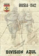 433-*SPAIN CIVIL WAR*WWII*10 UNCUT COUPONS*GUERRA CIVIL ESPA�OLA*ALBATERA, ALICANTE*BLUE DIVISION*RUSIA 1942*