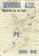 434-*SPAIN CIVIL WAR*WWII*10 UNCUT COUPONS*GUERRA CIVIL ESPA�OLA*LEPE, HUELVA*BLUE DIVISION*RUSIA 1942*