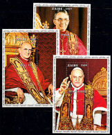 C0301 ZAIRE 1979, Popes, MNH - Zaïre