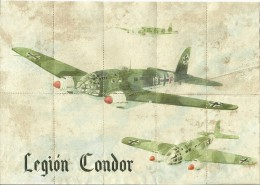 436-*SPAIN CIVIL WAR*10 UNCUT COUPONS*GUERRA CIVIL ESPA�OLA*VIGO, PONTEVEDRA 1942*LEGION CONDOR*