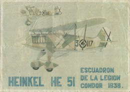 437-*SPAIN CIVIL WAR*10 UNCUT COUPONS*GUERRA CIVIL ESPA�OLA*C�RTAMA, M�LAGA 1938*LEGION CONDOR