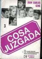 """""""COSA JUZGADA"""" DE JUAN CARLOS GENE-EDIT. GRANICA- AÑO 1970- PAG.127-USADO-GECKO. - Théâtre"""