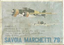 439-*SPAIN CIVIL WAR*10 UNCUT COUPONS*GUERRA CIVIL ESPA�OLA*CANTAVIEJA, TERUEL 1939*SAVOIA MARCHETTI 79*