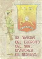 440-*SPAIN CIVIL WAR*10 UNCUT COUPONS*GUERRA CIVIL ESPA�OLA*VERA, ALMER�A 1939*112 DIVISION  EJERCITO DEL SUR*