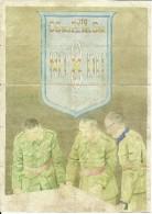 443-*SPAIN CIVIL WAR*10 UNCUT COUPONS*GUERRA CIVIL ESPA�OLA*NERJA, M�LAGA 1943*CG DEL EJTO DEL SUR*