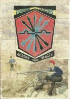 446-*SPAIN CIVIL WAR*10 UNCUT COUPONS*GUERRA CIVIL ESPA�OLA*VILLADIEGO, BURGOS 1939*DIVISION FLECHAS*FALANGE*
