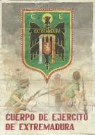 447-*SPAIN CIVIL WAR*10 UNCUT COUPONS*GUERRA CIVIL ESPA�OLA*MALPARTIDA DE C�CERES 1939*C. E. EXTREMADURA*