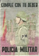 451-*SPAIN CIVIL WAR*10 UNCUT COUPONS*GUERRA CIVIL ESPA�OLA*CARMONA, SEVILLA 1943*POLICIA MILITAR*