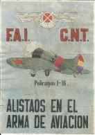 458-*SPAIN CIVIL WAR*VOUCHERS FOR MONEY*GUERRA CIVIL ESPA�OLA*BENAMOCARRA, M�LAGA 1936*F.A.I. - C.N.T. *
