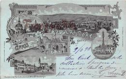 Gruss Aus Göllersdorf - Marktplatz Kapelle Etc.  1899 - Hollabrunn