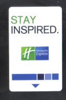 HOTEL KEY CARD -  HOLIDAY INN  HOTEL - Hotel Keycards