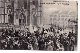 AVENEMENT DE LEOPOLD II - Inaugurations