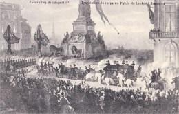 FUNERILLES DE LEOPÖLD I - Funérailles