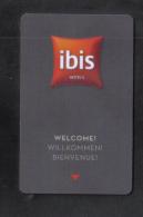 HOTEL KEY CARD -  IBIS  HOTEL - Hotel Keycards