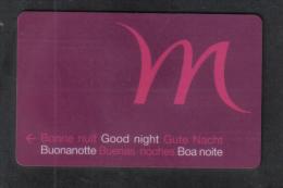 HOTEL KEY CARD -  MURCURY  HOTEL - Hotel Keycards