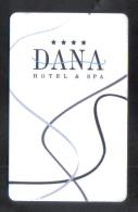 HOTEL KEY CARD -  DANA  HOTEL - Hotel Keycards