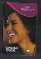 HOTEL KEY CARD -  CROWN PLAZA  HOTEL - Hotel Keycards