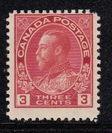 Canada MNH Scott #109 3c George V, Admiral - Neufs