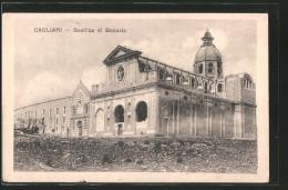 Cartolina Cagliari, Basilica Di Bonaria - Cagliari